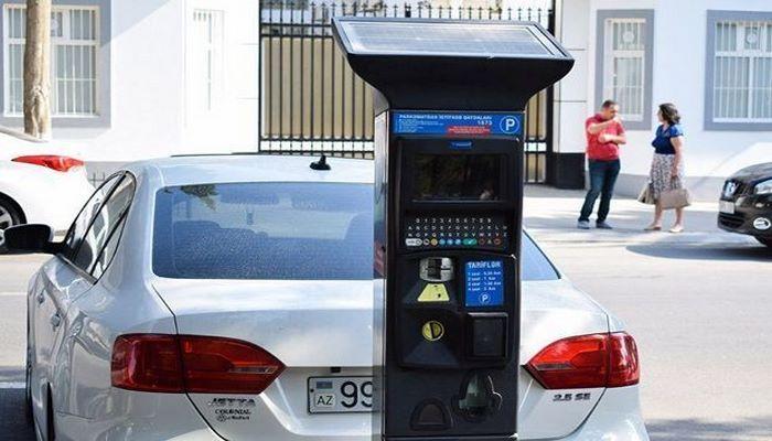 В Баку начнут действовать парковочные талоны
