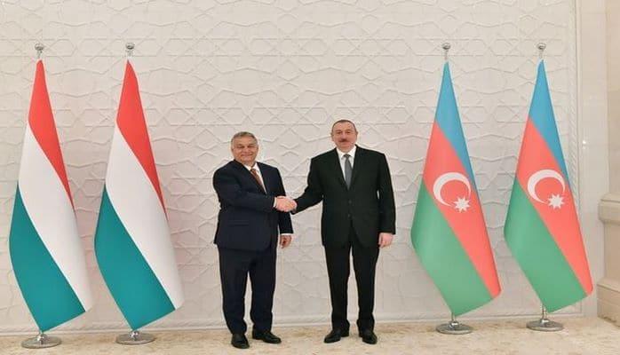 Prezident Macarıstanın Baş Naziri ilə görüşüb
