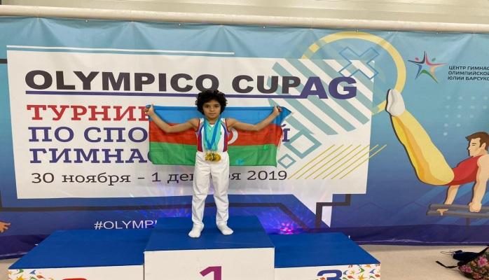 Doqquz yaşlı azərbaycanlı vunderkind Rusiyada medal qoymadı