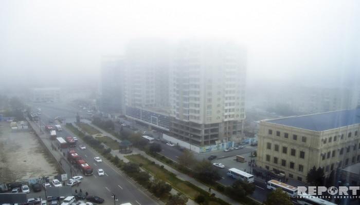 Названа причина густого тумана в Баку