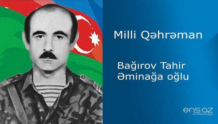 Tahir Bağırov Əminağa oğlu