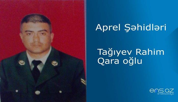 Rahim Tağıyev Qara oğlu