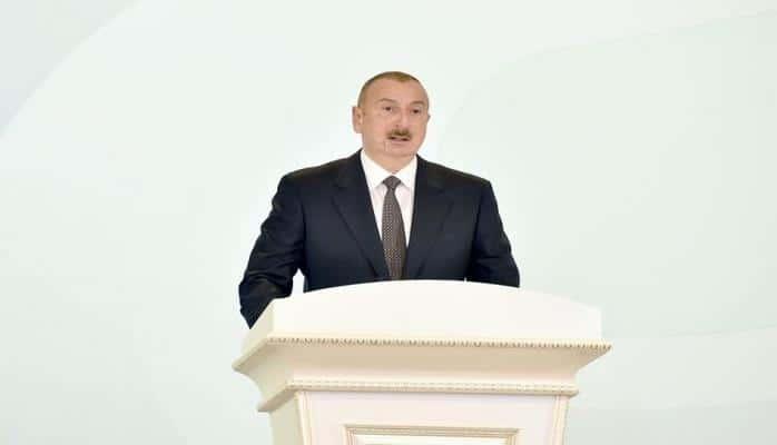 """Azərbaycan Prezidenti: """"Heydər Əliyevin fəaliyyəti dövründə Sumqayıt müasir sənaye şəhəri kimi inkişaf etdi"""""""