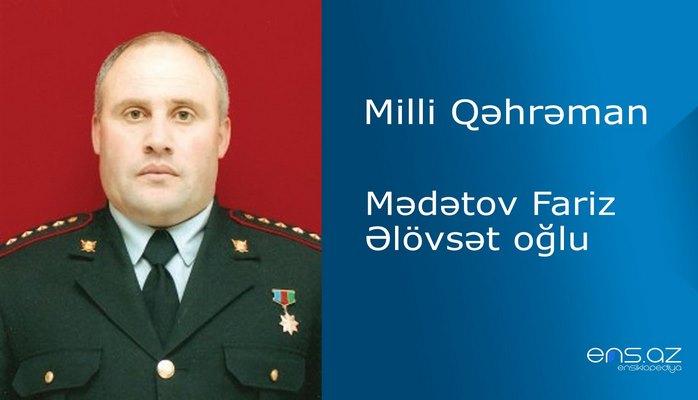 Fariz Mədətov Əlövsət oğlu