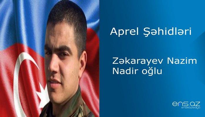Nazim Zəkarayev Nadir oğlu