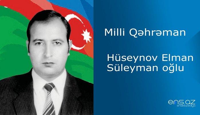 Hüseynov Elman Süleyman oğlu