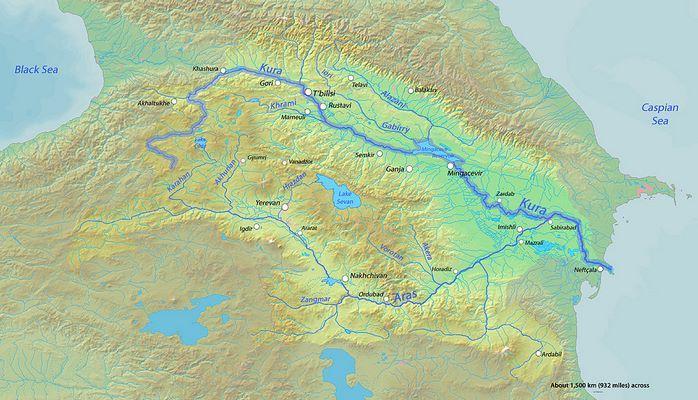 Azerbaycan'daki nehirler listesi