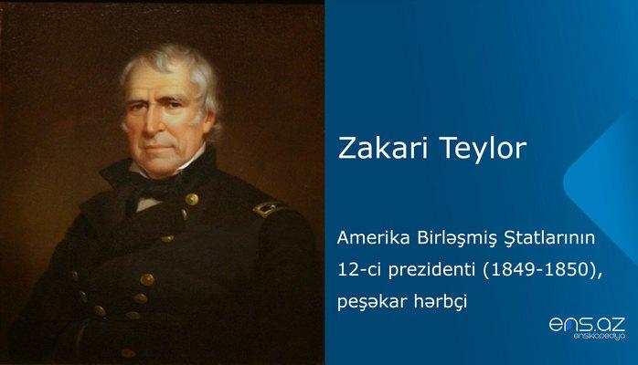 Zakari Teylor