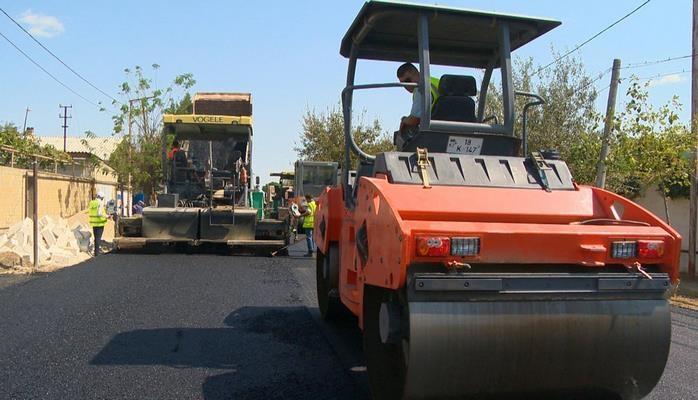 Завершается реконструкция автодороги Сангачал-Чейилдаг