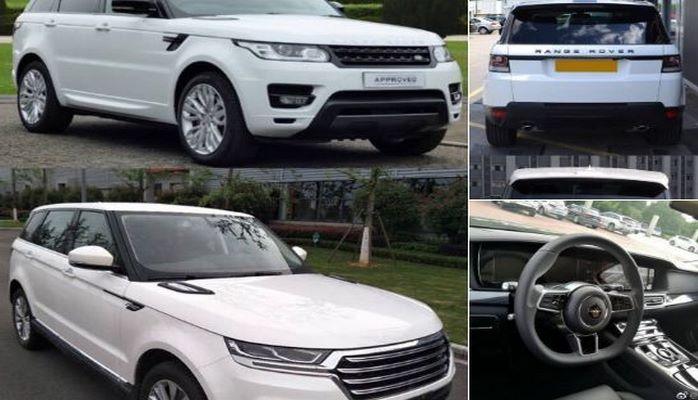 Китайцы выпустили дешевый клон Range Rover