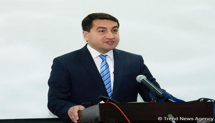 "Hikmat Hajiyev: European parliamentarians should investigate activities of those involved in Armenia's ""cognac diplomacy"""