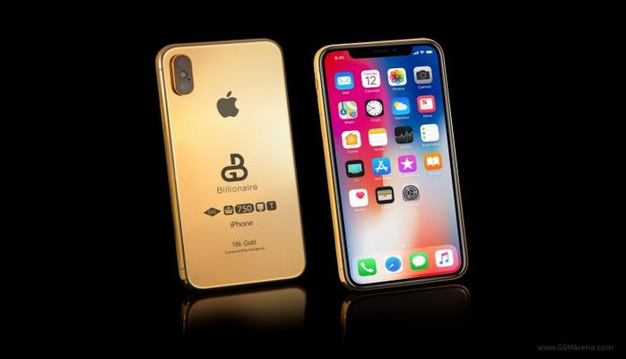 Milyarderlər üçün iPhone X (2018)