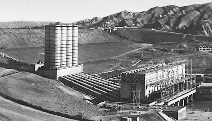 Мингечаурская ГЭС сквозь года (ФОТО)