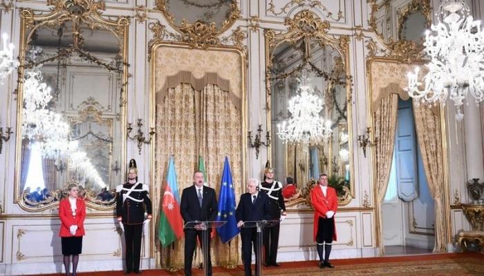 """Dövlət başçısı: """"NATO-Azərbaycan əlaqələri uğurla inkişaf edir"""""""