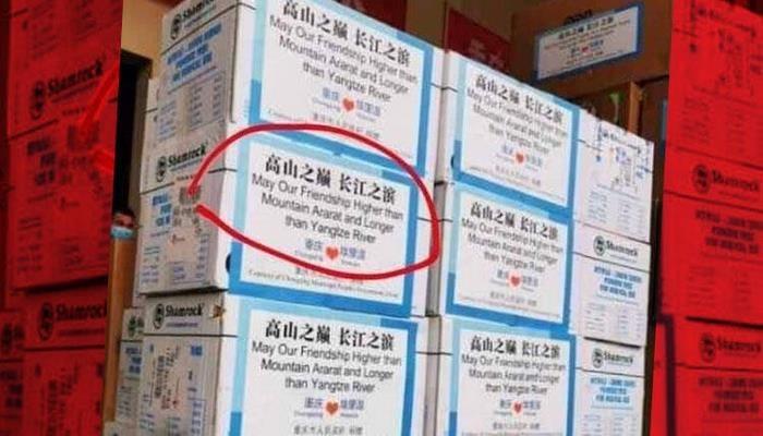 Türkiye Çin'den açıklama istedi! Ermenistan'a gönderilen o yardım kolileri…