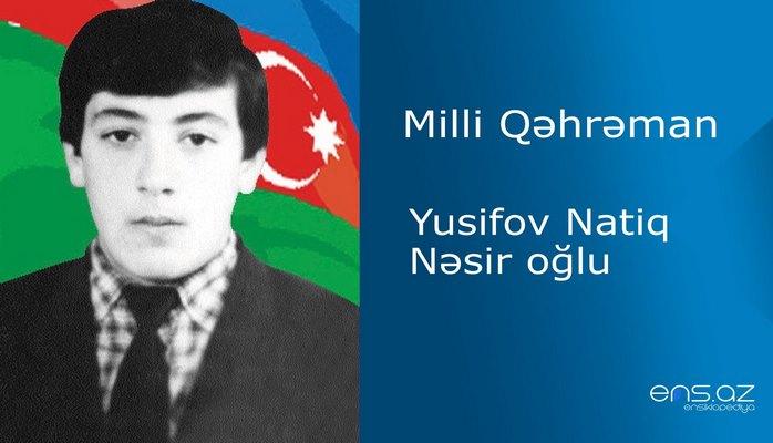 Natiq Yusifov Nəsir oğlu