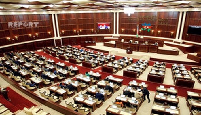 Milli Məclisin payız sessiyasının ilk plenar iclasının gündəliyi açıqlanıb