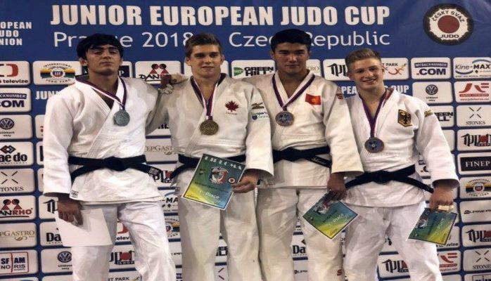 Azərbaycan cüdoçusu Praqada gümüş medal qazanıb