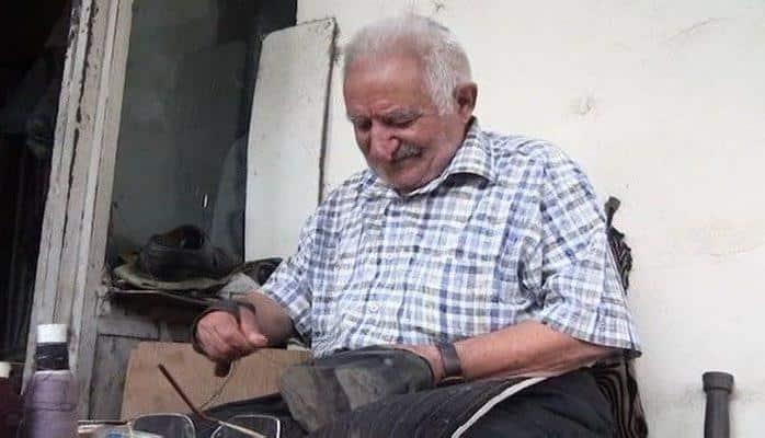 85 yaşlı pinəçinin Almaniyadan alınmış 65 illik yol yoldaşı