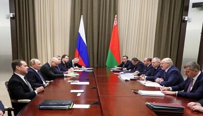 Путин и Лукашенко завершили переговоры