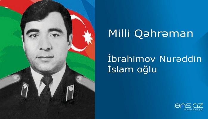 Nurəddin İbrahimov İslam oğlu
