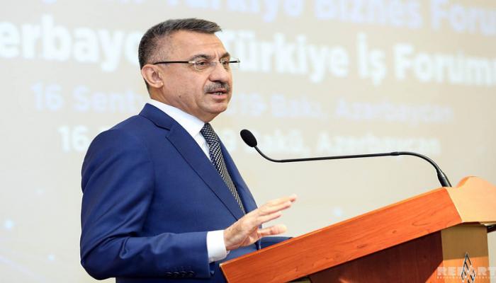 Türkiyənin vitse-prezidenti: 'Paşinyanın Qarabağla bağlı dediklərini təəccüblə izlədik'