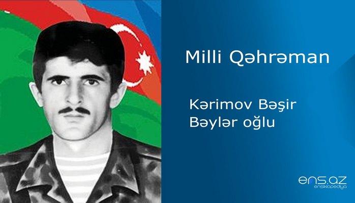 Bəşir Kərimov Bəylər oğlu