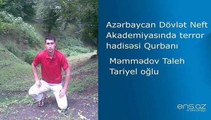 Azərbaycan Dövlət Neft Akademiyasında terror hadisəsi qurbanı - Taleh Məmmədov Tariyel oğlu