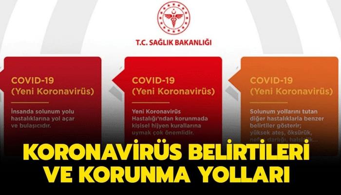 Koronavirüs ilk belirtileri ve korunma yolları nelerdir? Corona virüsü belirtileri nedir, nasıl bulaşır?