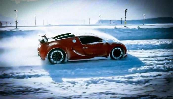 Qarda drift üçün ən yaxşı hansıdır? Bugatti Veyron ya Lamborghini Aventador?