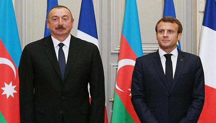 Emmanuel Makron İlham Əliyevə zəng edib