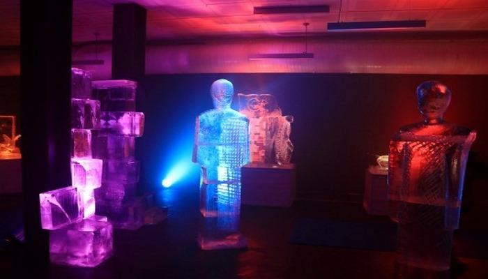 Erzurum'da Türkiye'nin ilk buz müzesi açıldı