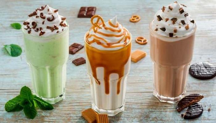 Evde milkshake nasıl yapılır? Fıstık ezmeli, çikolatalı ve kahveli milkshake tarifi…