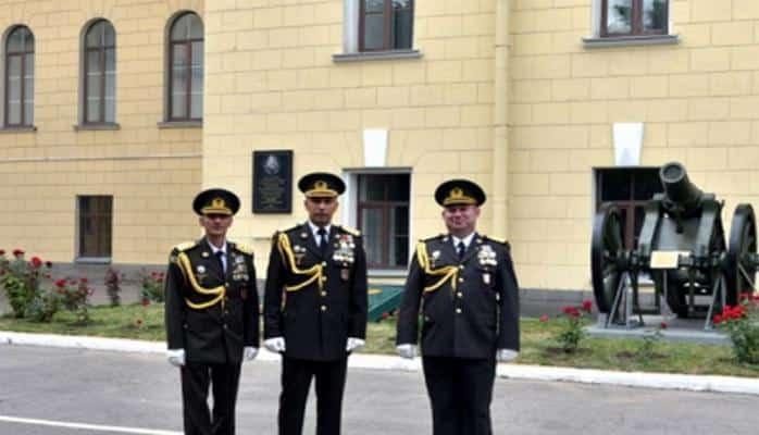Azərbaycanlı zabit Rusiyada qızıl medal alıb