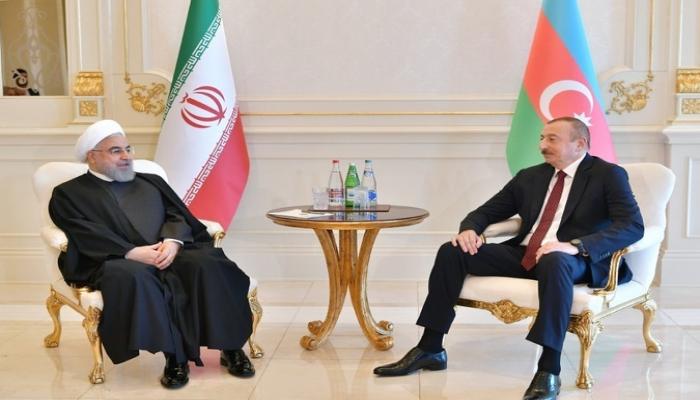 Həsən Ruhani Prezident İlham Əliyevə məktub göndərib