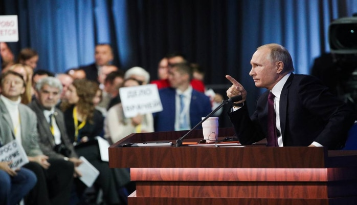Putinin böyük mətbuat konfransının tarixi açıqlandı