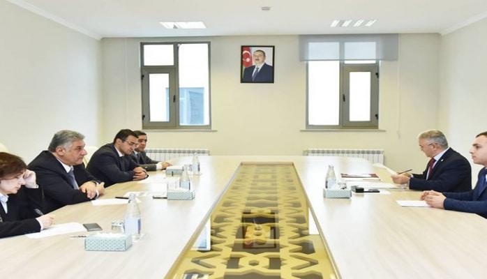Nazir Azad Rəhimov Biləsuvarda vətəndaşları qəbul edib