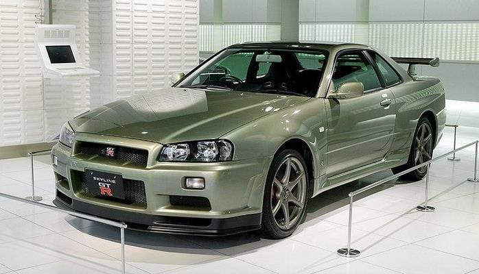 На видео показали самую мощную версию суперкара Nissan GT-R R34