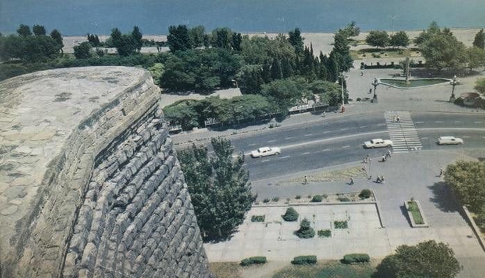 Бакинская крепость: Дворцовый ансамбль Ширваншахов в 1981 г. (ФОТО)