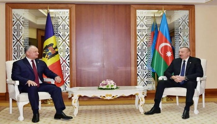 İlham Əliyev İqor Dodonla görüşdü