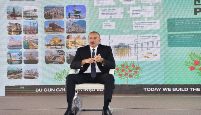 """Prezident İlham Əliyev: """"Ermənistan regional sabitlik üçün təhdiddir"""""""
