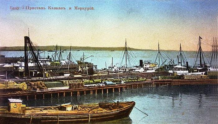 Бакинская гавань в 1861-1898 годах (ФОТО)