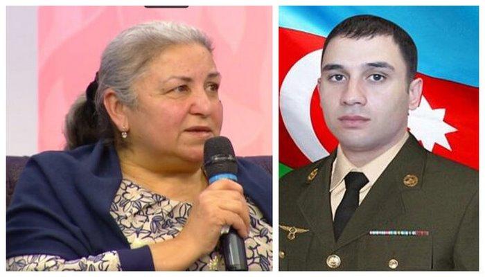 """""""18 gün oğlumun nəşi tapılmadı, sonra isə təmas xəttindən..."""" - Aprel şəhidinin anası"""