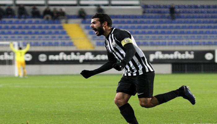 'Neftçi'nin kapitanından unikal göstərici: 10 penalti, 10 qol