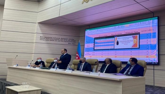 Генеральный прокурор Кямран Алиев наградил студентов БГУ