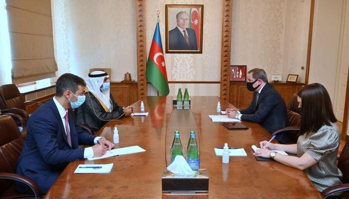 Глава МИД Азербайджана встретился с послом ОАЭ