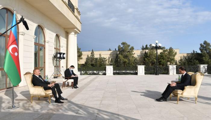 Президент Ильхам Алиев принял верительные грамоты новоназначенного посла  Швеции