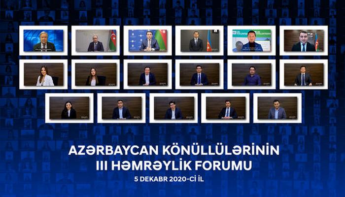 """""""İlin Könüllüsü"""" mükafatının qalibləri elan olunub"""