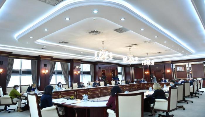 Парламентский комитет отчитался перед Милли Меджлисом Азербайджана