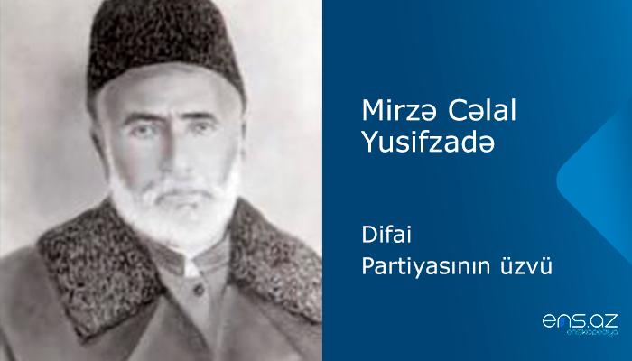 Mirzə Cəlal Yusifzadə